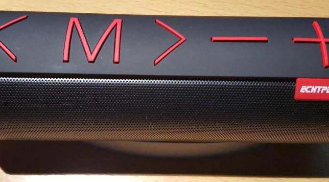 ECHTPower BOOMX 360 Grad Stereo Sound Portable Bluetooth Lautsprecher Testbericht